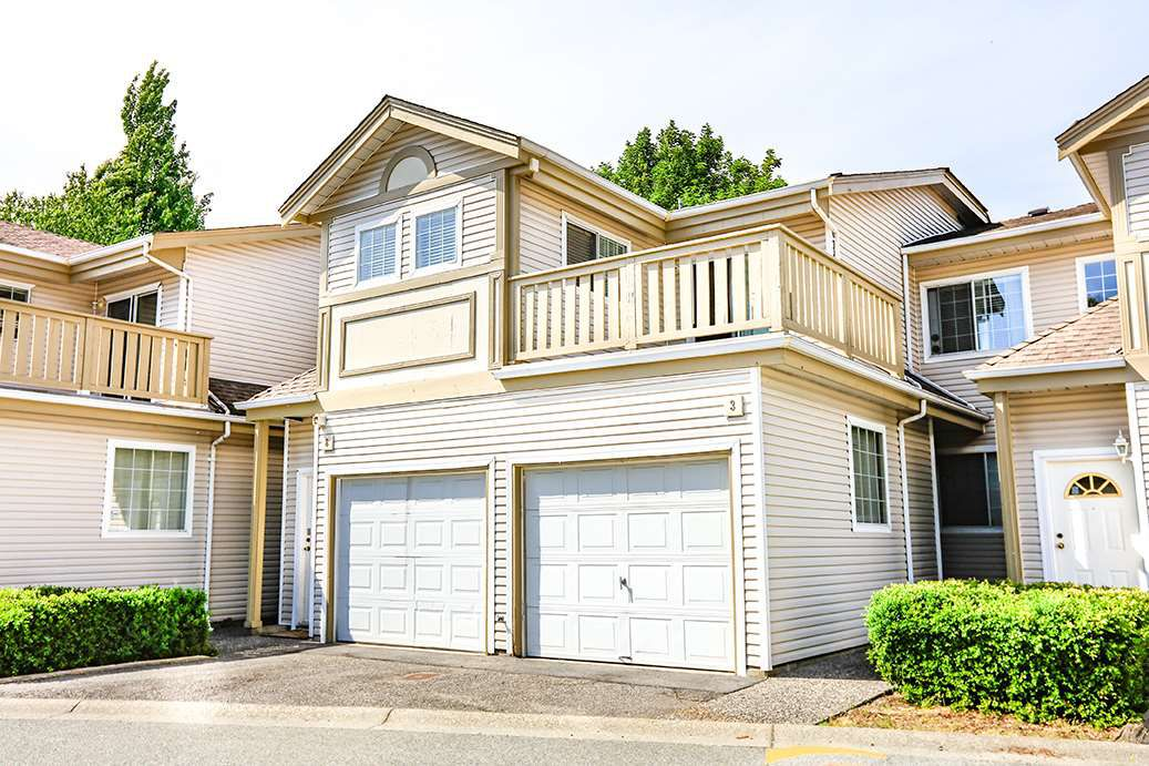 "Main Photo: 8 1328 BRUNETTE Avenue in Coquitlam: Maillardville Townhouse for sale in ""place Mallard"" : MLS®# R2272124"