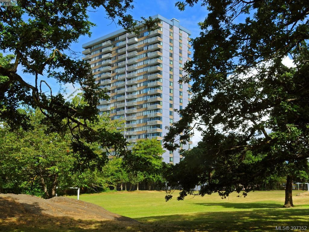 Main Photo: 1401 647 Michigan Street in VICTORIA: Vi James Bay Condo Apartment for sale (Victoria)  : MLS®# 397352