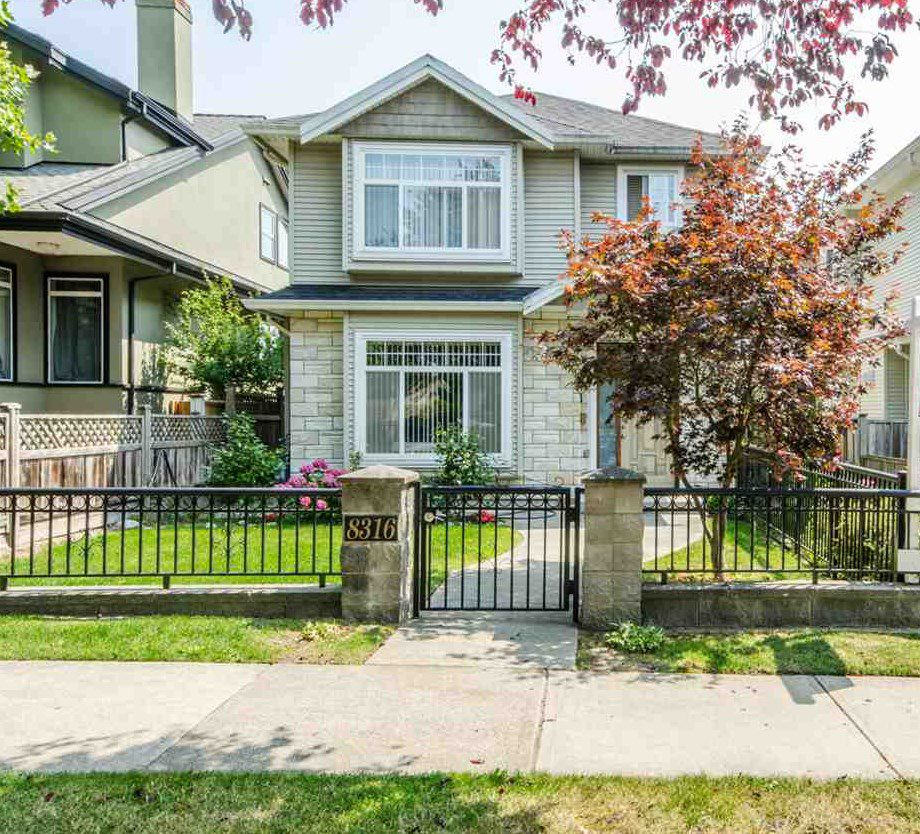 Main Photo: 8318 FREMLIN Street in Vancouver: Marpole House 1/2 Duplex for sale (Vancouver West)  : MLS®# R2317550