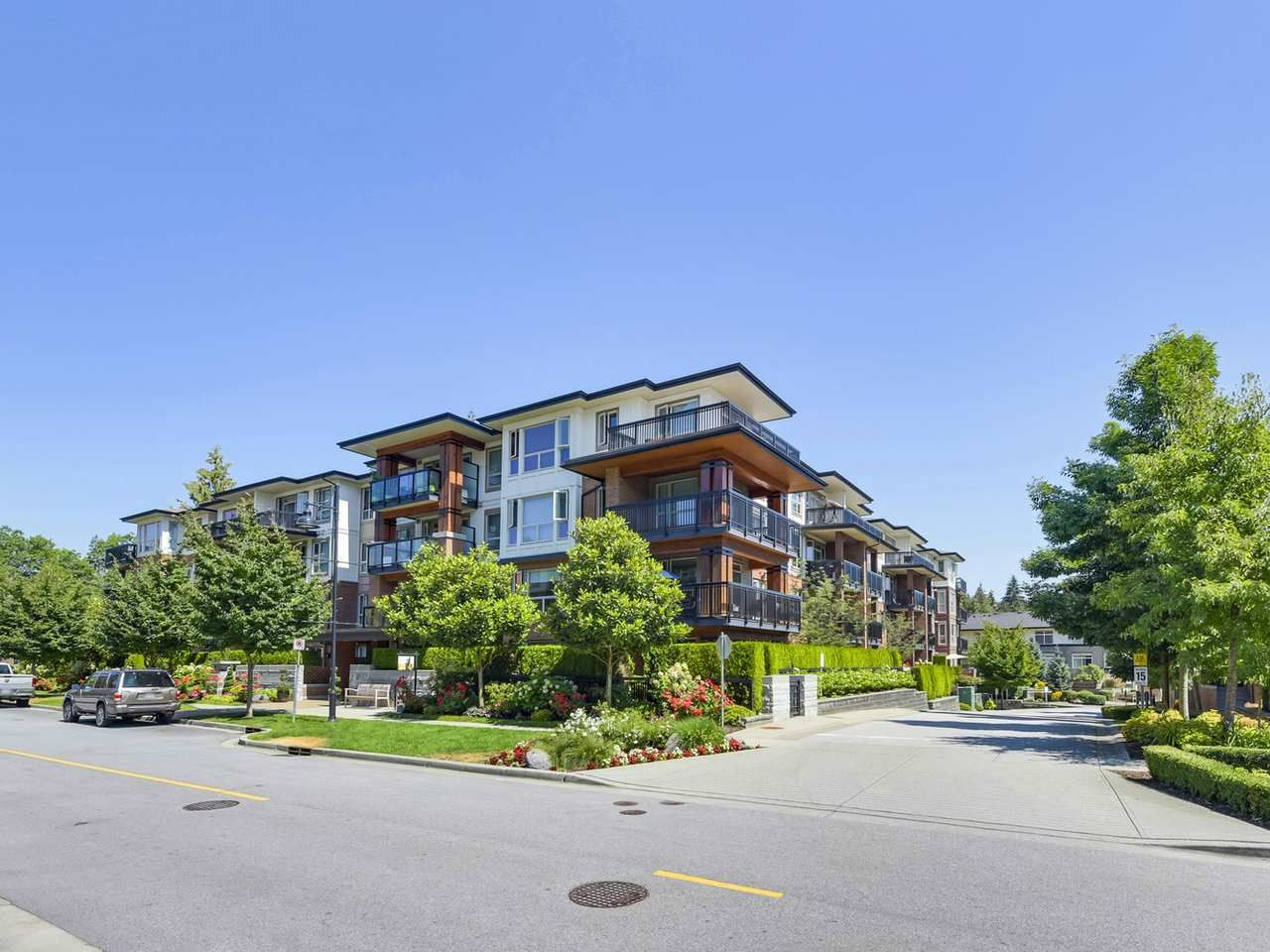 Main Photo: 413 1153 KENSAL Place in Coquitlam: New Horizons Condo for sale : MLS®# R2325575