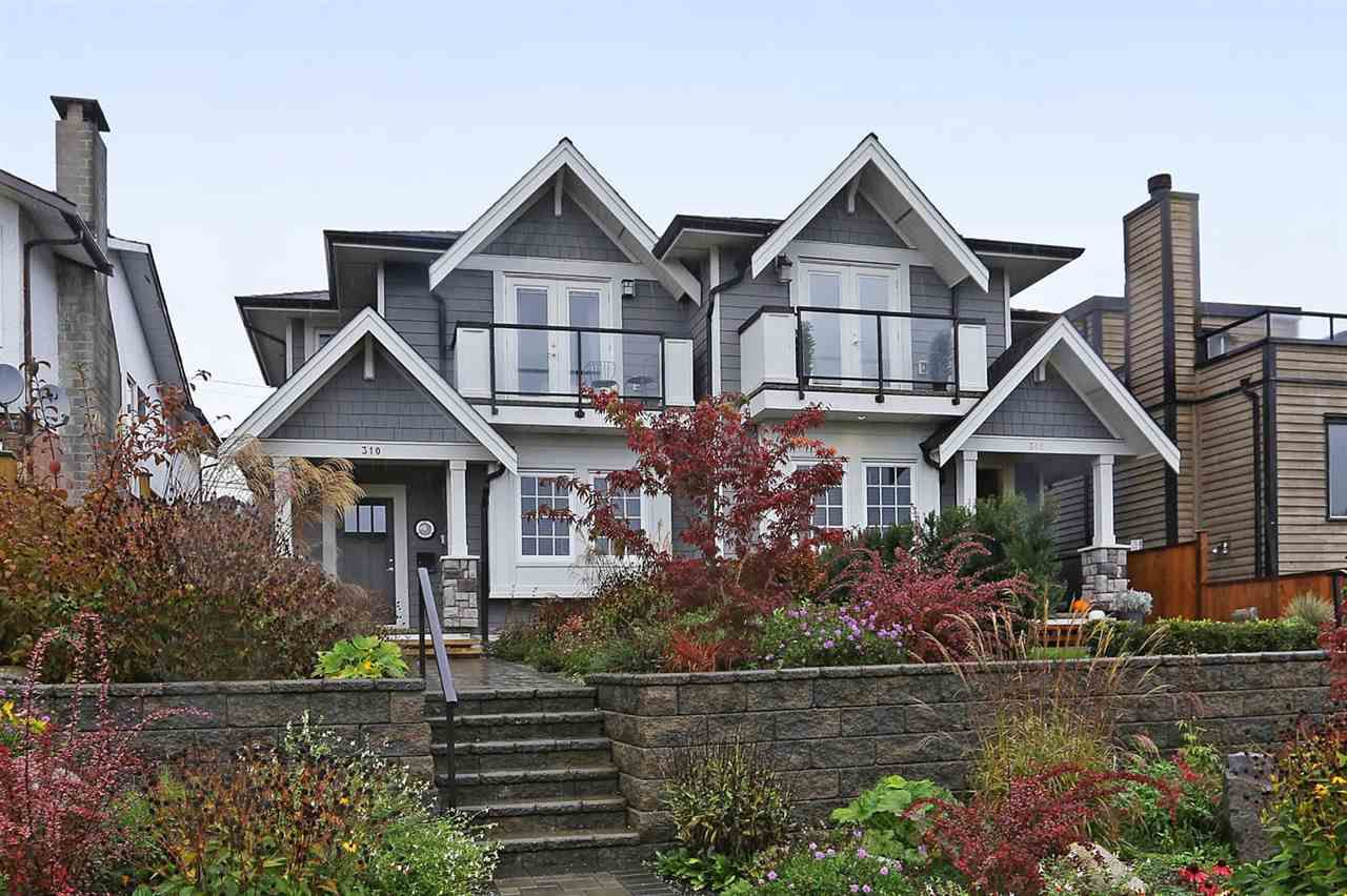 Main Photo: 310 E 5TH Street in North Vancouver: Lower Lonsdale House 1/2 Duplex for sale : MLS®# R2330089