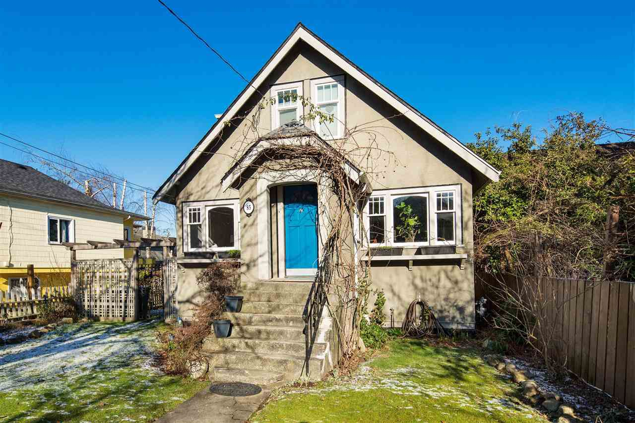 Main Photo: 85 E 23RD Avenue in Vancouver: Main House for sale (Vancouver East)  : MLS®# R2340338