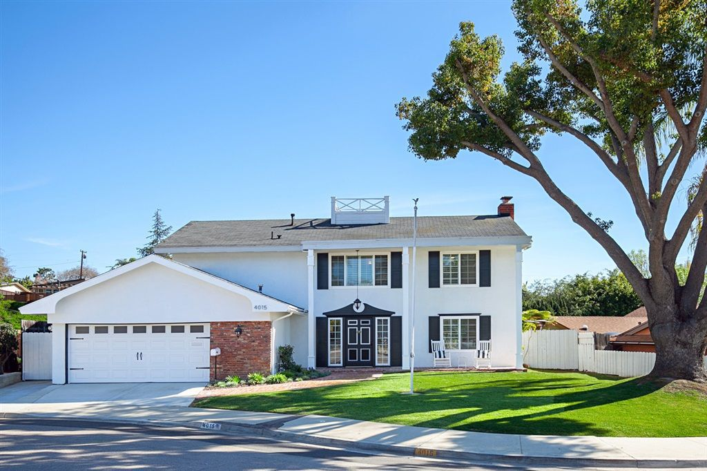 Main Photo: CLAIREMONT House for sale : 4 bedrooms : 4015 Southview Dr in San Diego