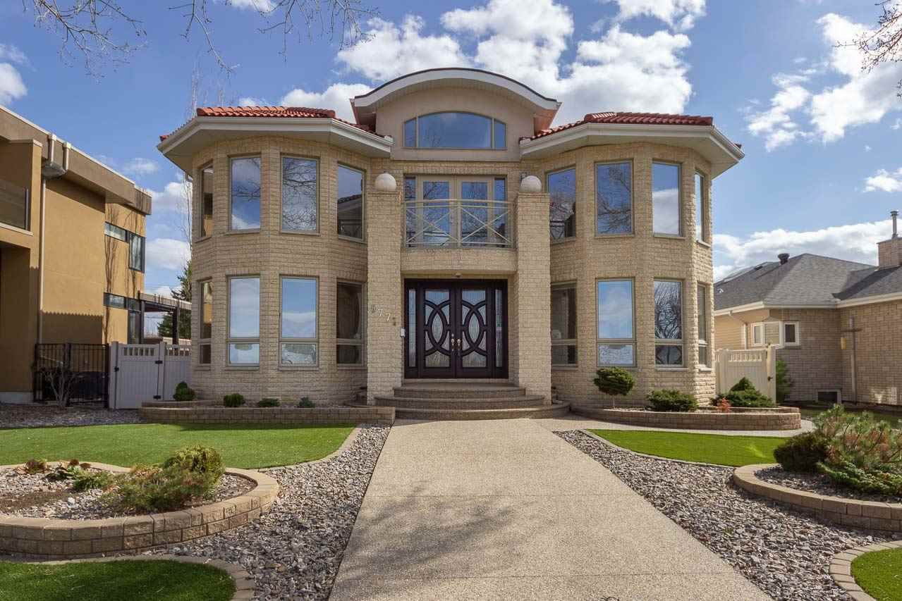 Main Photo: 8771 STRATHEARN Crescent in Edmonton: Zone 18 House for sale : MLS®# E4144428