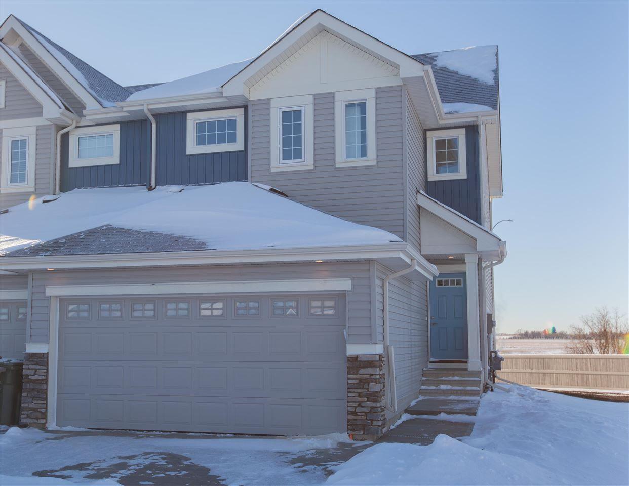 Main Photo: 6527 57 Avenue: Beaumont House Half Duplex for sale : MLS®# E4148075