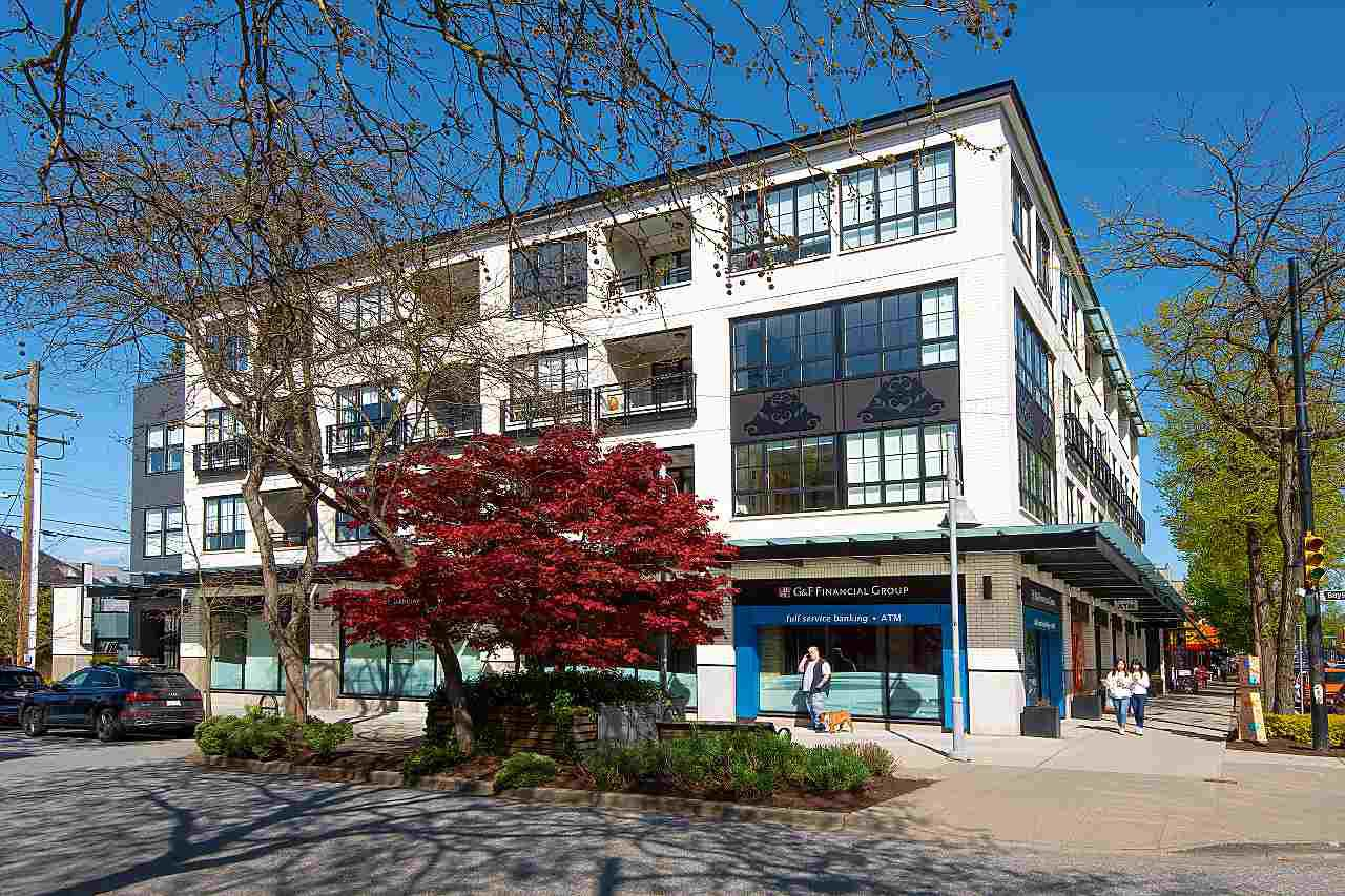 Main Photo: 301 2468 BAYSWATER Street in Vancouver: Kitsilano Condo for sale (Vancouver West)  : MLS®# R2363056