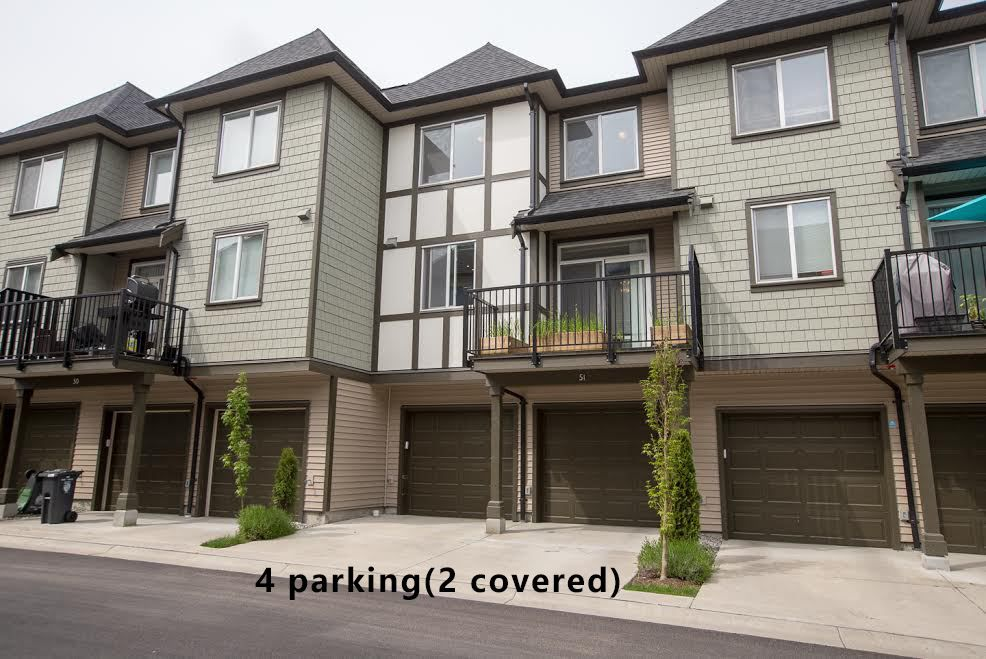 "Main Photo: 51 8138 204 Street in Langley: Willoughby Heights Townhouse for sale in ""ASHBURY & OAK"" : MLS®# R2386662"