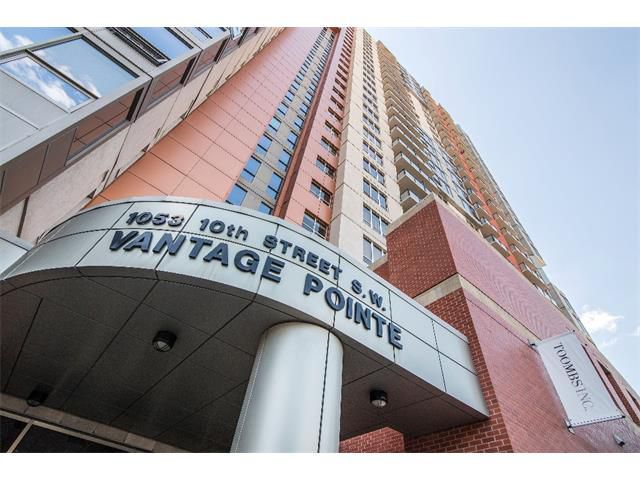 Main Photo: 704 1053 10 Street SW in Calgary: Connaught Condo for sale : MLS®# C4015942