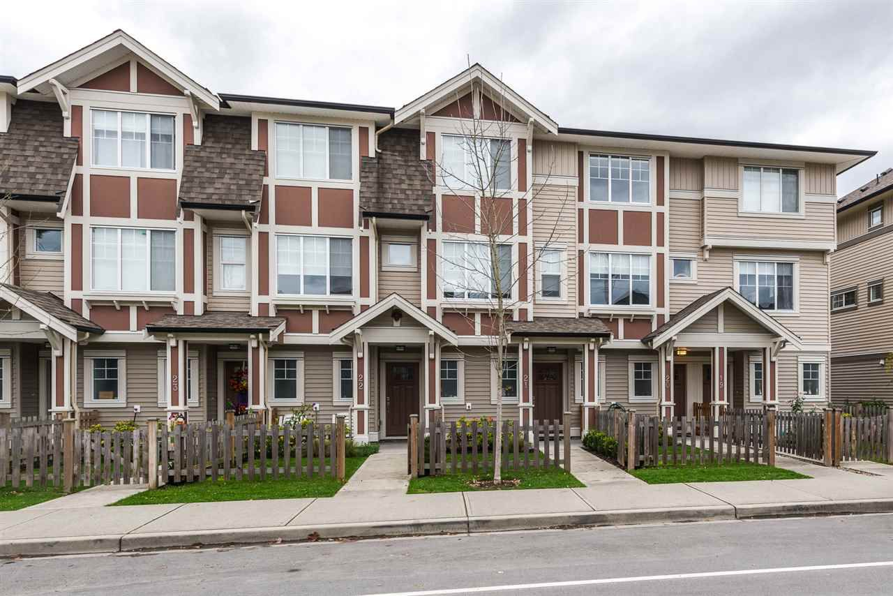 "Main Photo: 20 10151 240 Street in Maple Ridge: Albion Townhouse for sale in ""Albion Station"" : MLS®# R2119407"