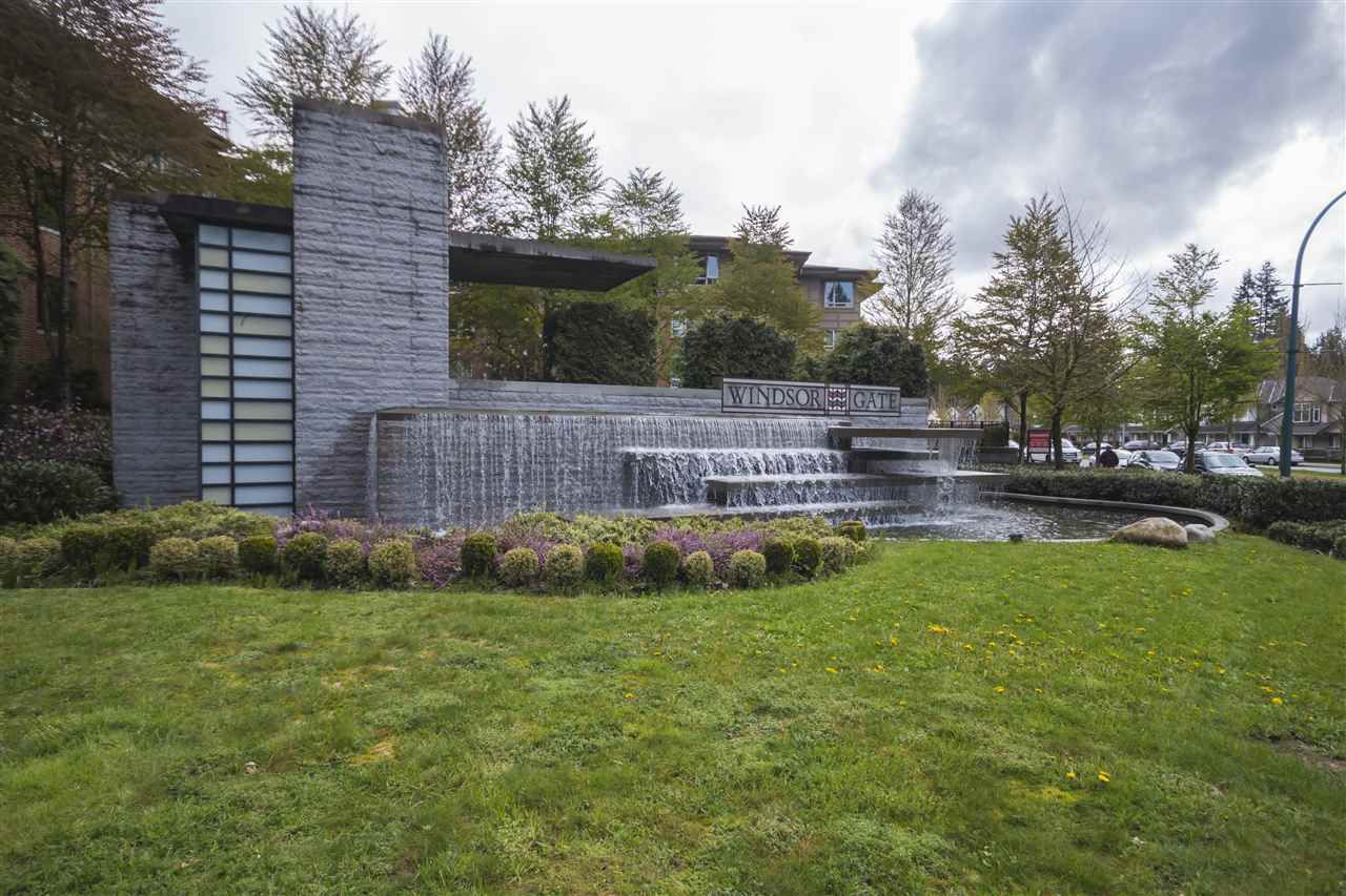 """Main Photo: 210 3097 LINCOLN Avenue in Coquitlam: New Horizons Condo for sale in """"LARKIN HOUSE AT WINDSOR GATE"""" : MLS®# R2159199"""