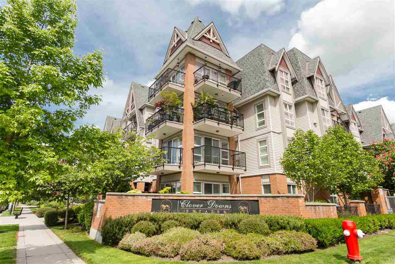 "Main Photo: 202 17769 57 Avenue in Surrey: Cloverdale BC Condo for sale in ""Cloverdown Estates"" (Cloverdale)  : MLS®# R2188663"