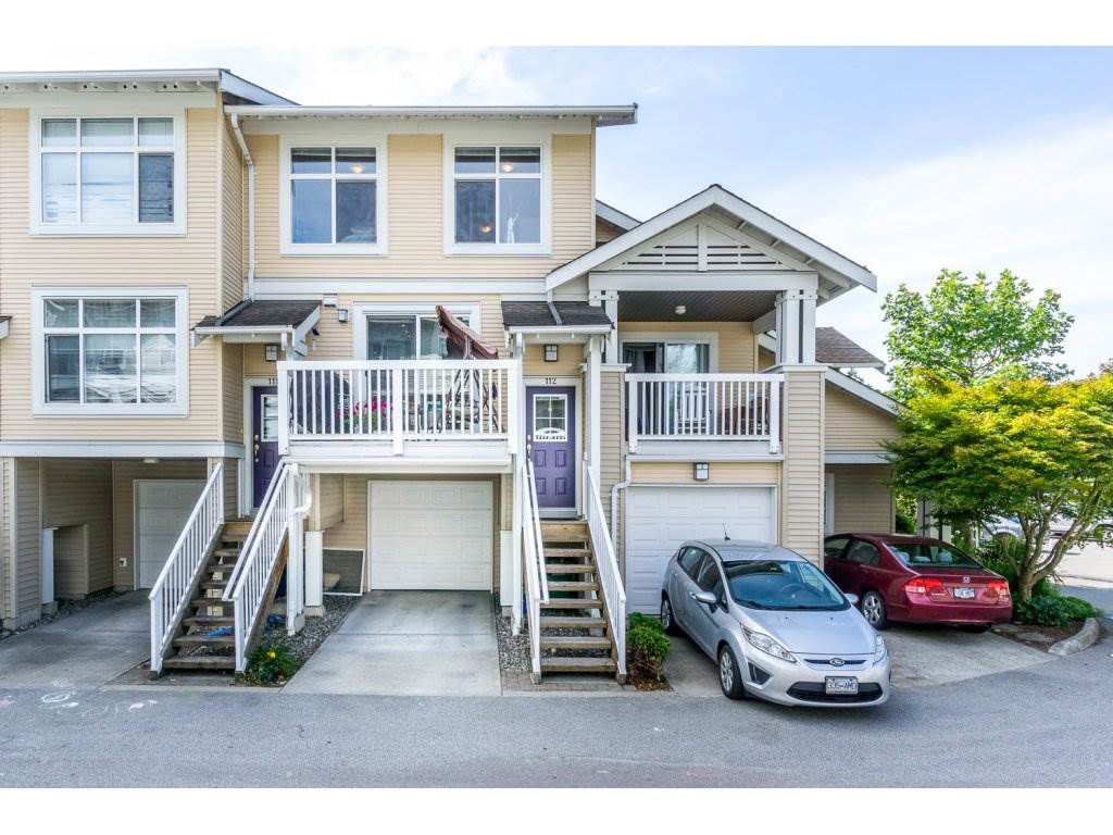 "Main Photo: 112 7179 201 Street in Langley: Willoughby Heights Townhouse for sale in ""The Denim"" : MLS®# R2198746"
