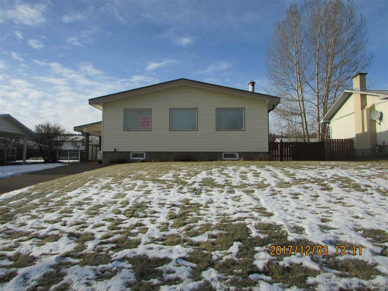 Main Photo: 283 BOYD Street in Prince George: Heritage House for sale (PG City West (Zone 71))  : MLS®# R2226412