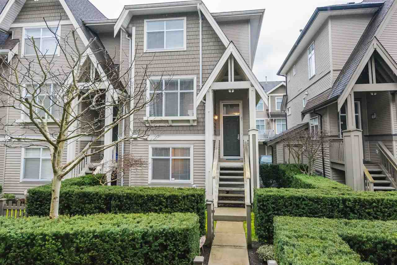 "Main Photo: 61 7288 HEATHER Street in Richmond: McLennan North Townhouse for sale in ""Barrington Walk"" : MLS®# R2259989"