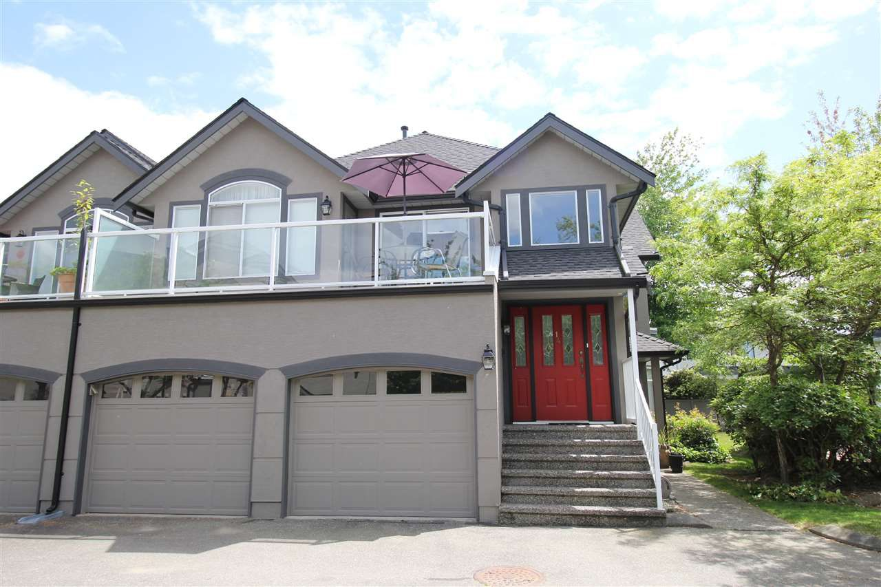 """Main Photo: 14 4740 221 Street in Langley: Murrayville Townhouse for sale in """"Eaglecrest"""" : MLS®# R2273734"""
