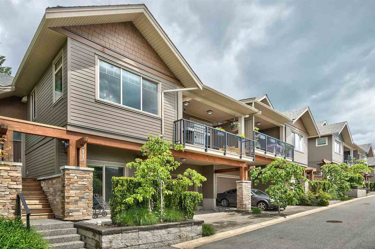 "Main Photo: 115 3458 BURKE VILLAGE Promenade in Coquitlam: Burke Mountain Townhouse for sale in ""SECRET RIDGE"" : MLS®# R2305846"