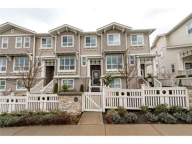 """Main Photo: 60 8355 DELSOM Way in Delta: Nordel Townhouse for sale in """"SPYGLASS AT SUNSTONE"""" (N. Delta)  : MLS®# R2309000"""
