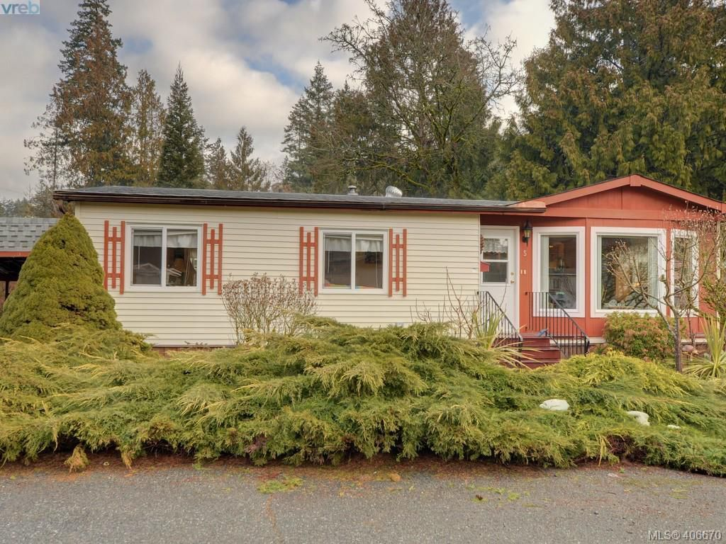 Main Photo: 5 2607 Selwyn Road in VICTORIA: La Mill Hill Manu Double-Wide for sale (Langford)  : MLS®# 406670