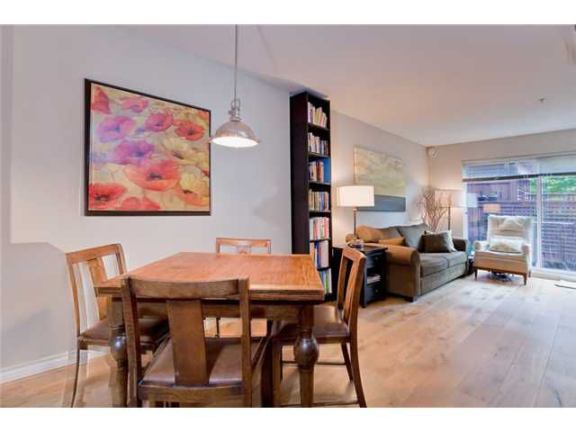 "Main Photo: 110 2688 WATSON Street in Vancouver: Mount Pleasant VE Townhouse for sale in ""TALA VERA"" (Vancouver East)  : MLS®# V911021"