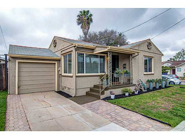Main Photo: NORMAL HEIGHTS House for sale : 2 bedrooms : 3848 Monroe Avenue in San Diego