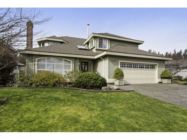 """Main Photo: 2187 148A Street in Surrey: Sunnyside Park Surrey House for sale in """"MERIDIAN BY THE SEA"""" (South Surrey White Rock)  : MLS®# F1435655"""