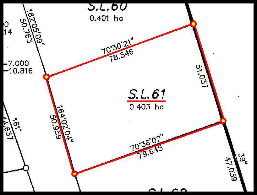 Main Photo: 61 Country Woods Road in Sorrento: Notch Hill Estates Vacant Land for sale : MLS®# 10135687