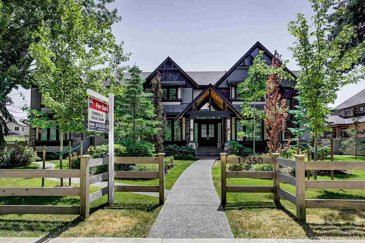 Main Photo: 17350 4 Avenue in Surrey: Pacific Douglas House for sale (South Surrey White Rock)  : MLS®# R2189905