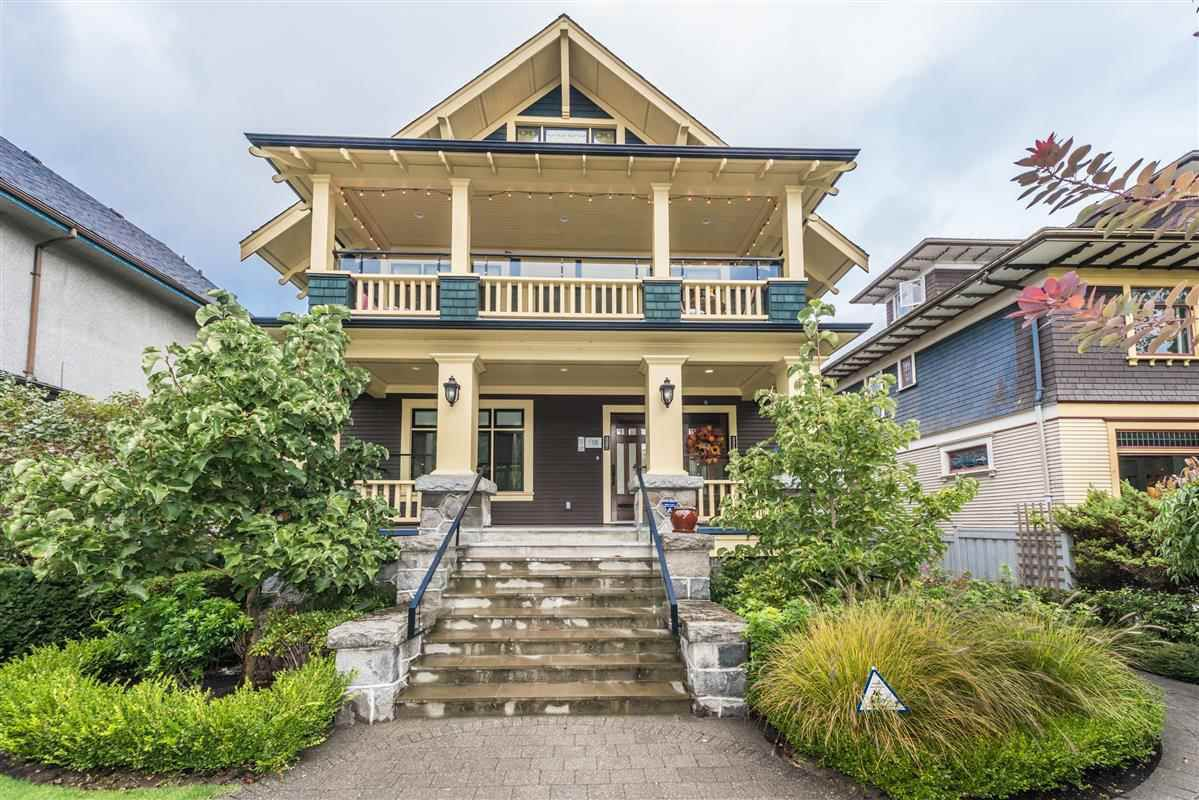 Main Photo: 335 W 11TH Avenue in Vancouver: Mount Pleasant VW Townhouse for sale (Vancouver West)  : MLS®# R2213238