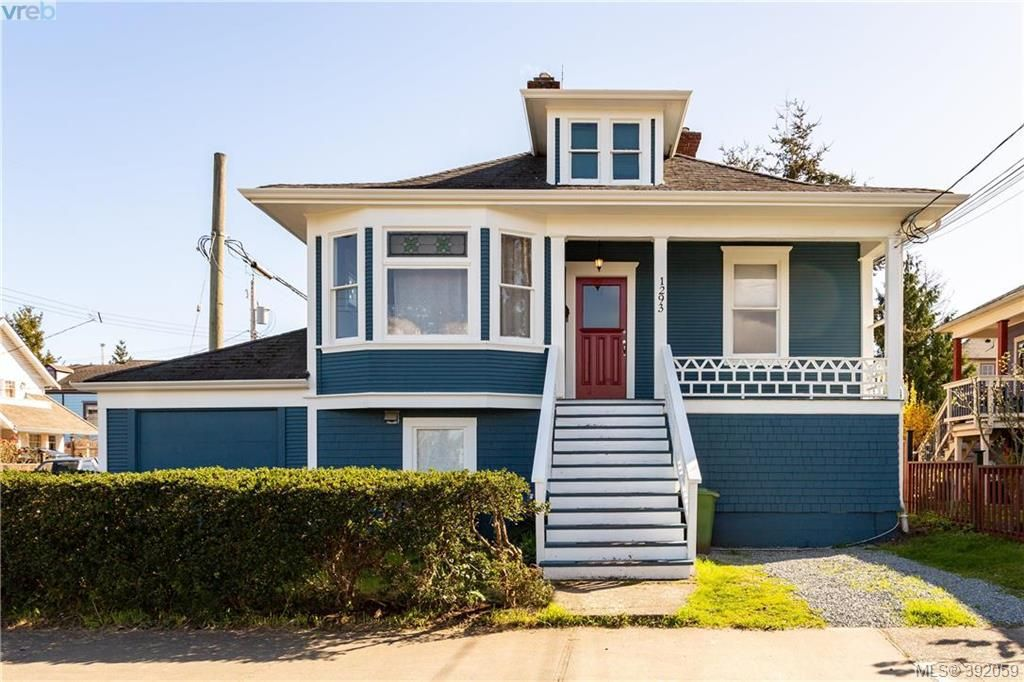 Main Photo: 1293 Denman Street in VICTORIA: Vi Fernwood Single Family Detached for sale (Victoria)  : MLS®# 392059