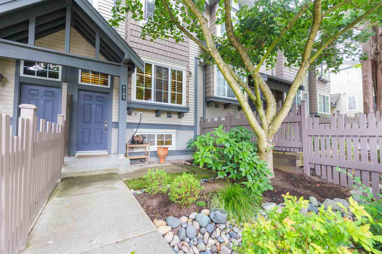 """Main Photo: 9185 CAMERON Street in Burnaby: Sullivan Heights Townhouse for sale in """"STONEBROOK"""" (Burnaby North)  : MLS®# R2305464"""