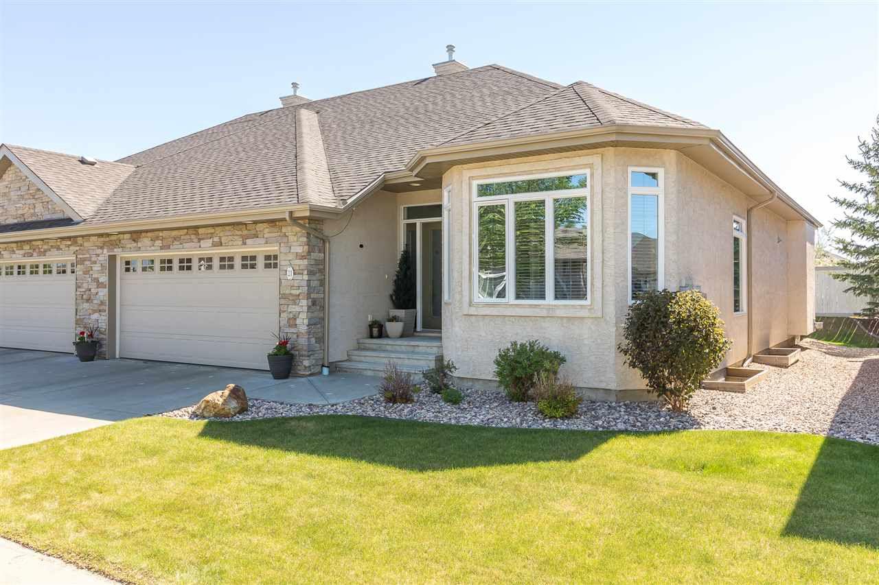 Main Photo: 21 61 Lafleur Drive: St. Albert House Half Duplex for sale : MLS®# E4137206