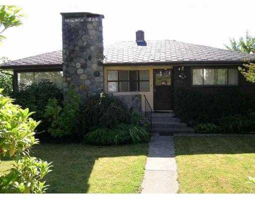 Main Photo: 340 CARNEGIE ST in New Westminster: The Heights NW House for sale : MLS®# V553521