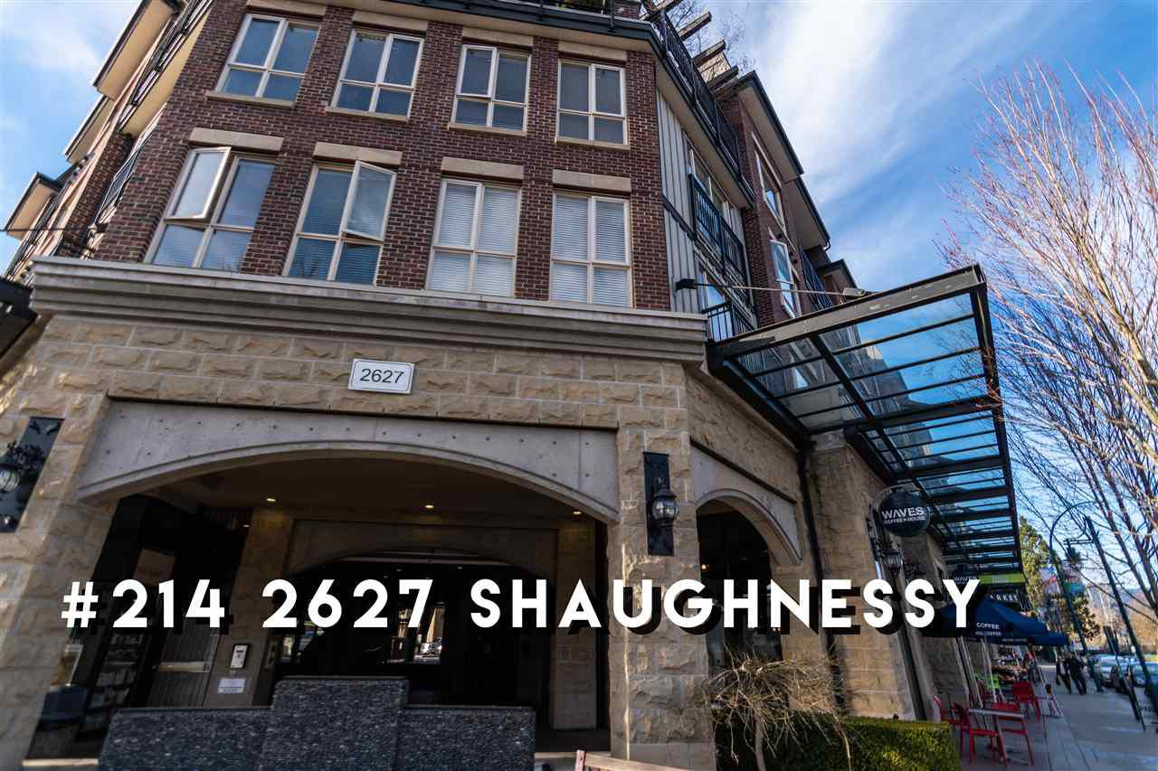 "Main Photo: 214 2627 SHAUGHNESSY Street in Port Coquitlam: Central Pt Coquitlam Condo for sale in ""Villagio"" : MLS®# R2353793"