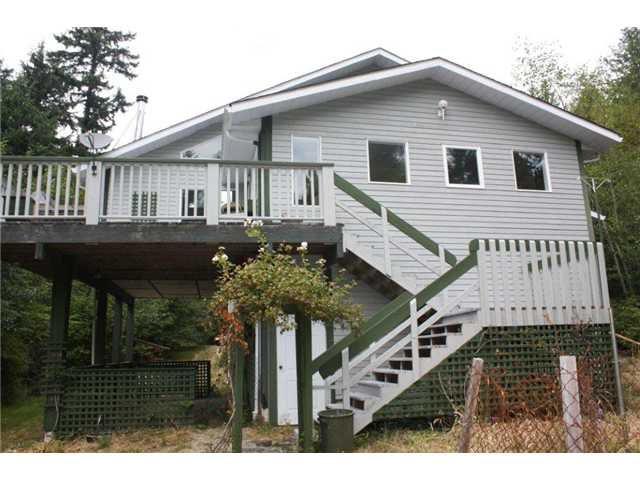 Main Photo: 11905 SUNSHINE COAST Highway in No City Value: Pender Harbour Egmont House for sale (Sunshine Coast)  : MLS®# V904716