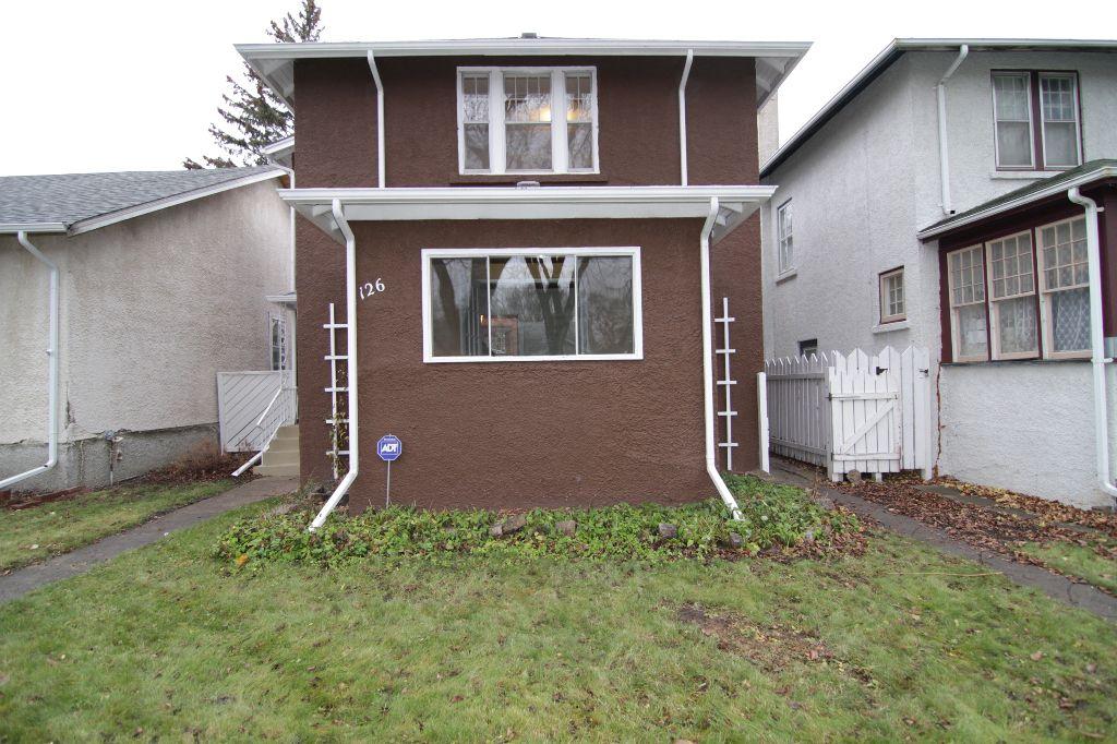 Main Photo: 126 Garfield Street in Winnipeg: West End / Wolseley Residential for sale (West Winnipeg)  : MLS®# 1222656