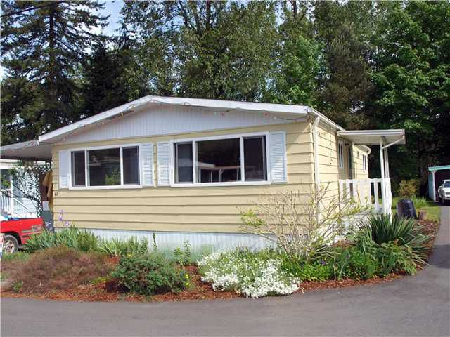 Main Photo: 62 4200 Dewdney Road in Coquitlam: Ranch Park Manufactured Home for sale