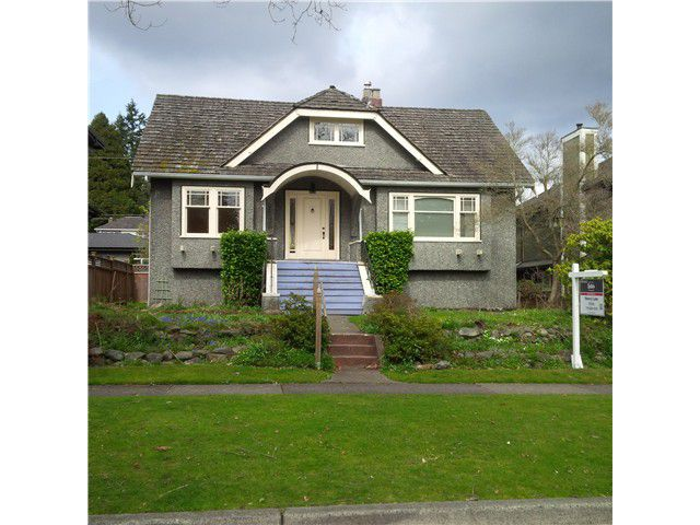 Main Photo: 3861 W 34TH Avenue in Vancouver: Dunbar House for sale (Vancouver West)  : MLS®# V1046675