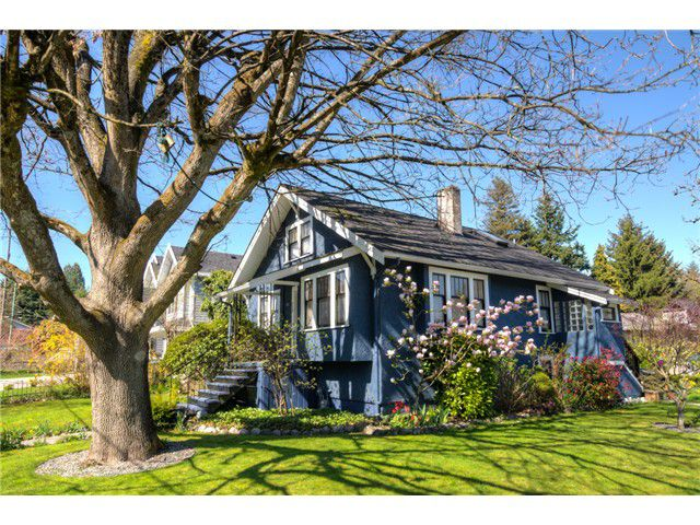 """Main Photo: 929 FOURTH Street in New Westminster: GlenBrooke North House for sale in """"GLENBROOKE NORTH"""" : MLS®# V1058200"""