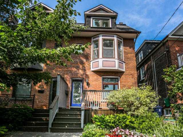 Main Photo: 122 Bertmount Avenue in Toronto: South Riverdale House (3-Storey) for sale (Toronto E01)  : MLS®# E3240996