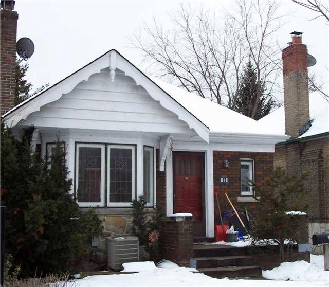 Main Photo: #1 83 Vanderhoof Avenue in Toronto: Leaside House (Bungalow) for lease (Toronto C11)  : MLS®# C3428105
