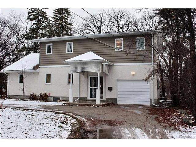 Main Photo: 4597 Roblin Boulevard in Winnipeg: Charleswood Residential for sale (1F)  : MLS®# 1629985