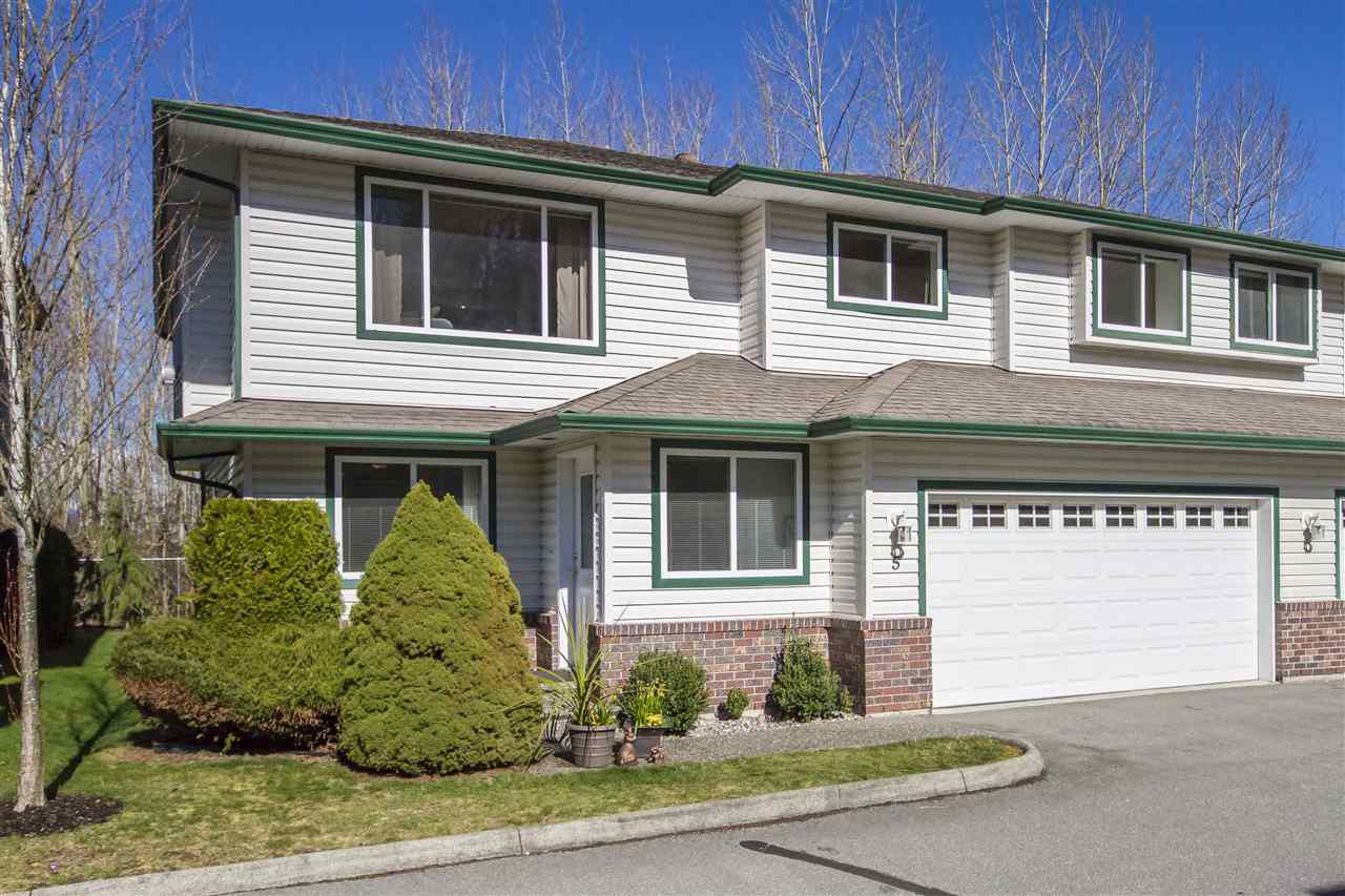 """Main Photo: 5 34250 HAZELWOOD Avenue in Abbotsford: Abbotsford East Townhouse for sale in """"Still Creek"""" : MLS®# R2248972"""