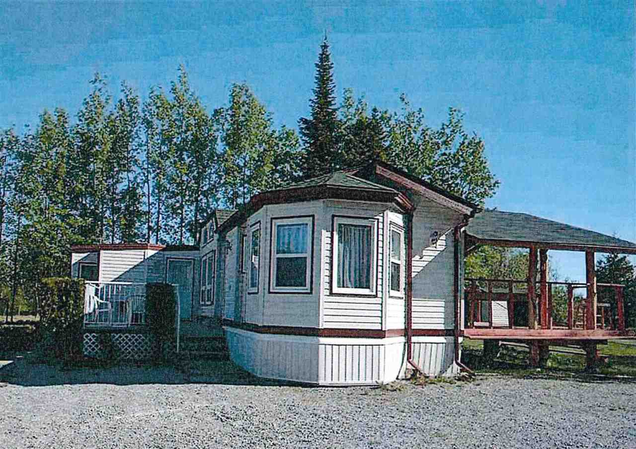 """Main Photo: 7240 SUTLEY Road in Prince George: Pineview Manufactured Home for sale in """"PINEVIEW"""" (PG Rural South (Zone 78))  : MLS®# R2257732"""