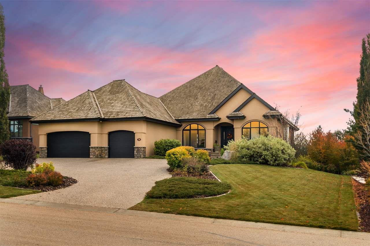 Main Photo: 76 RIVERSTONE Close: Rural Sturgeon County House for sale : MLS®# E4130866