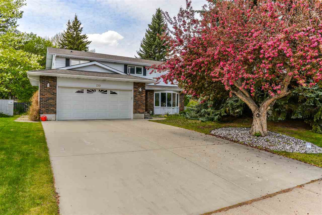 Main Photo: 199 BRANDER Drive in Edmonton: Zone 14 House for sale : MLS®# E4158253