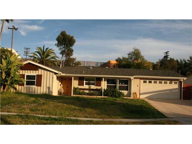 Main Photo: LA MESA House for sale : 3 bedrooms : 6315 Meadowcrest Drive