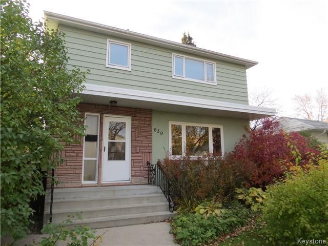 Main Photo: 639 Beaverbrook Street in WINNIPEG: River Heights / Tuxedo / Linden Woods Residential for sale (South Winnipeg)  : MLS®# 1425626