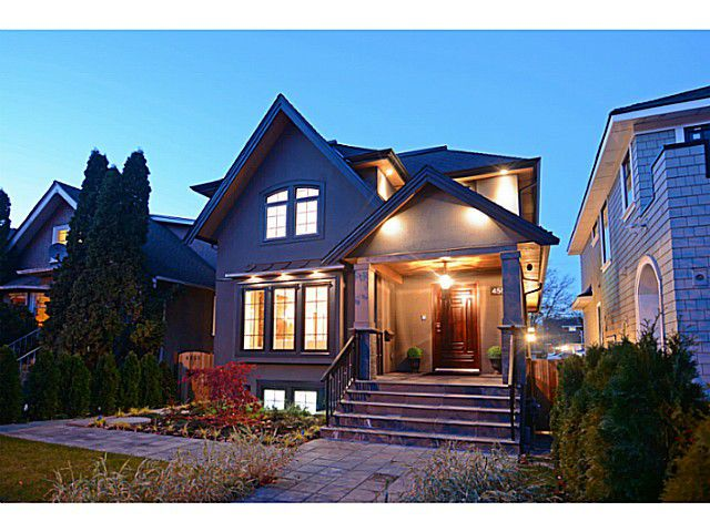 Main Photo: 4553 W 14TH Avenue in Vancouver: Point Grey House for sale (Vancouver West)  : MLS®# V1093670