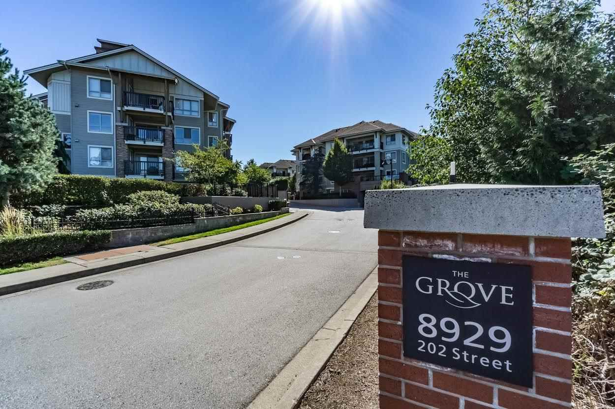 "Main Photo: A408 8929 202ND Street in Langley: Walnut Grove Condo for sale in ""Grove"" : MLS®# R2141845"
