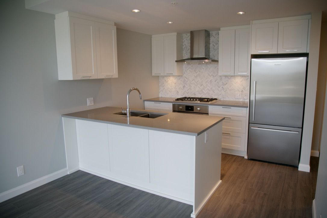 """Main Photo: 2106 520 COMO LAKE Avenue in Coquitlam: Coquitlam West Condo for sale in """"THE CROWN"""" : MLS®# R2209731"""